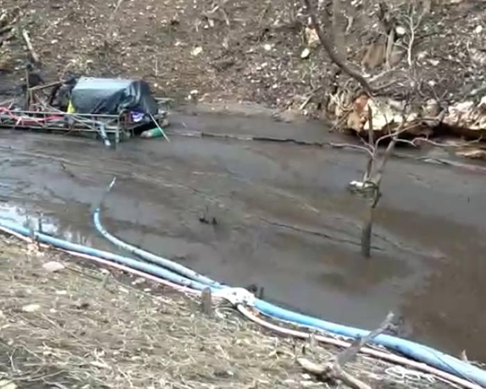 河道清淤施工视频
