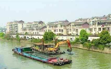 排干河道清淤的两种方式介绍