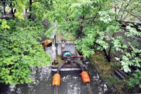 斗式与旋转圆盘式两种河道清淤方式介绍