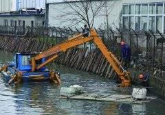 河道清淤过程中使用的机械设备介绍
